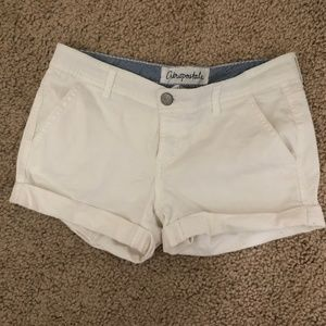 Aeropostale White Shorts
